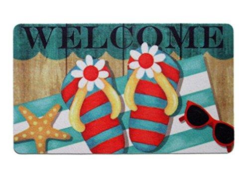 Dearhouse Home Decor Cute Starfish Flip Flops Beach Theme