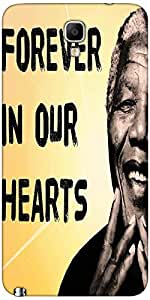Snoogg Mandela In Our Hearts Case Cover For Samsung Galaxy Note Iii Neo / Not...