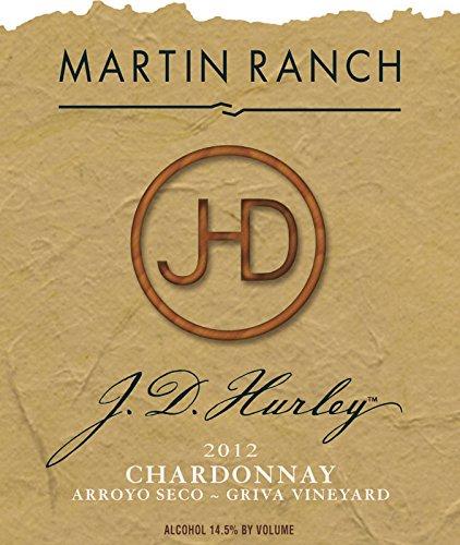 2012 Martin Ranch Winery J.D. Hurley Chardonnay - Arroyo Seco 750 Ml