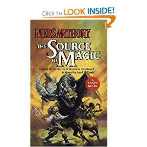 Source of Magic (Xanth) by Piers Anthony