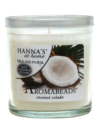 Hanna's At Home AROMABEADS Coconut Colada 5.5oz Candle