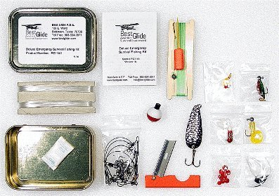 Survival Fishing Kit - Standard Version from Best Glide ASE Inc.