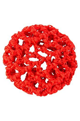 tanzmuster ballett duttnetz knotennetz mit gummiband in rot f r den perfekten halt des. Black Bedroom Furniture Sets. Home Design Ideas