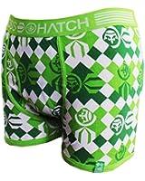Mens Boys Crosshatch Designer Boxer Shorts Underwear Trunks S-XXL Many Styles