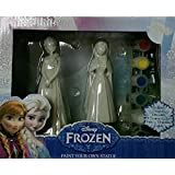 Disney Frozen Paint Your Own Statue (Anna and Elsa)