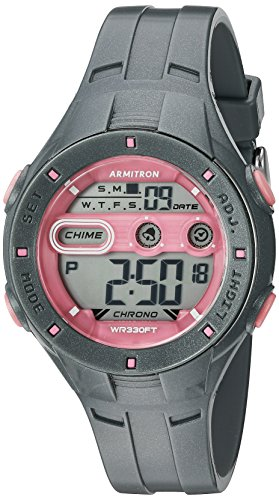 armitron-sport-womens-45-7067sgy-pink-accented-digital-chronograph-grey-sparkled-resin-strap-watch