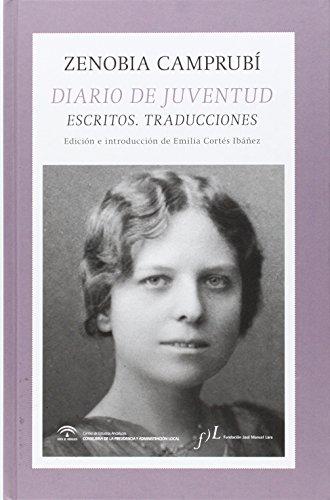 Diario De Juventud. Escritos. Traducciones
