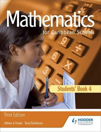 Maths for Caribbean Schools: New Edition 4: Students' Book Bk. 4