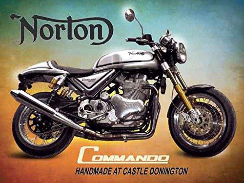 norton-commando-motorrader-blechschild-norton-commando-grosse-20x15-cm