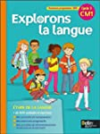 Explorons la langue CM1 manuel �l�ve