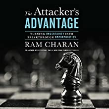 Attacker's Advantage: Turning Uncertainty into Breakthrough Opportunities (       UNABRIDGED) by Ram Charan Narrated by Mark Bramhall