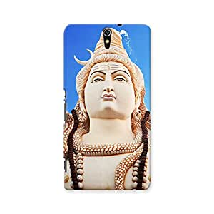 ArtzFolio Lord Shiva Statue, Bangalore, India : Sony Xperia C5 Matte Polycarbonate ORIGINAL BRANDED Mobile Cell Phone Protective BACK CASE COVER Protector : BEST DESIGNER Hard Shockproof Scratch-Proof Accessories