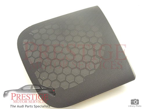 audi-a4-b6-rear-ns-left-speaker-cover-grill-blue-new-genuine
