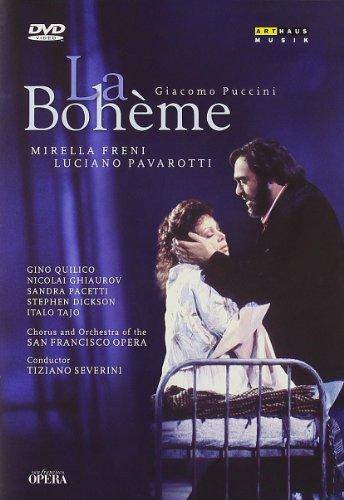 La Boheme (Freni,Pavarotti) - Puccini - DVD