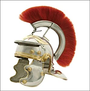 Amazon.com: Roman Centurion Helmet Costume Reenactment: Sports