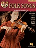Violin Playalong Vol.016 Folk Songs + Cd