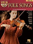 Folk Songs: Violin Play-Along Volume 16