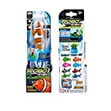 Robo Fish: Orange Electronic 3-Inch Clownfish