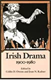 img - for Irish Drama, 1900-1980 book / textbook / text book