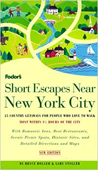 Short escapes near new york city 2nd edition 25 country for Weekend getaways near new york city