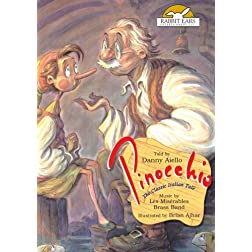 Pinocchio, Told by Danny Aiello with Music by Les Miserables Brass Band