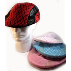 Buy Kangol Style Golf Hat - Red, Pink, Blue Available ON SALE by Karmas Canvas