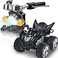 Smiles Creation 2.4G R/C 4D Function Quad Sand Moto Bike Game With Gravity Induction Toy Game For Kids