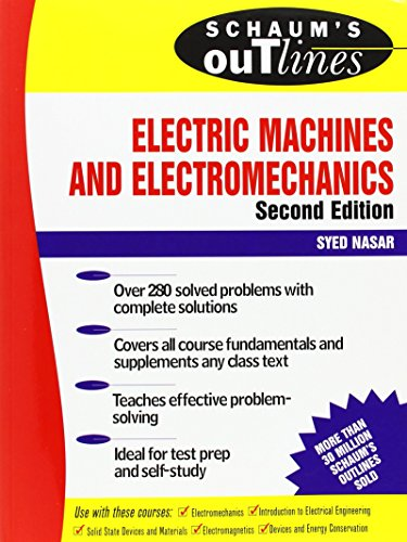 Schaum's Outline of Electric Machines & Electromechanics, 2nd edition