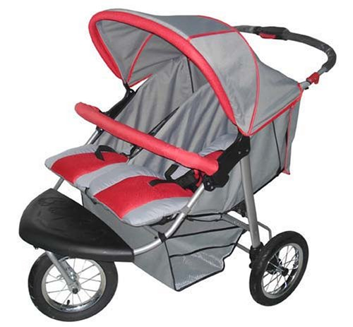 Jogging Stroller With Swivel Wheel front-751734