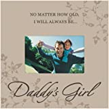 Malden Storyboard Wood Picture Frame, Daddy's Girl, 4 by 6-Inch