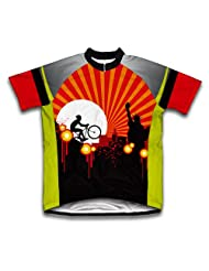 Biker that never sleeps Short Sleeve Cycling Jersey for Women