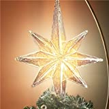 Thomas Kinkade Holidays in Motion Rotating Illuminated Treetopper: Animated Christmas Decor by The Bradford Editions