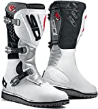 SIDI MOTORCYCLE TRIAL OFF ROAD ZERO WHITE SIZE 42 BOOTS