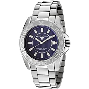 Mens 9100-33 Grande Sport Stainless Steel Watch