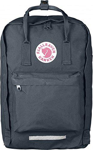 Fjallraven Kanken Laptop Backpack, Graphite, 17-Inch