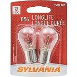 SYLVANIA 1156 Long Life Miniature Bulb, (Contains 2 Bulbs)