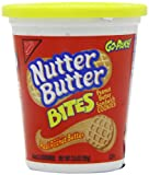 Nabisco Mini Oreo Nutter Butter Go-Pak Tub 99 g (Pack of 4)