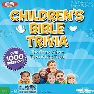 Children's Bible Trivia Game