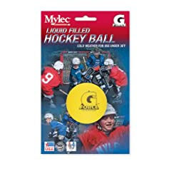 Buy Mylec Cold weather Liquid Filled G-Forece Hockey Balls, (Pack of 3) YELLOW by Mylec