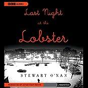 Last Night at the Lobster | [Stewart O'Nan]