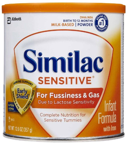 Similac Sensitive Powder 12.6 Oz (Pack Of 6) front-61129