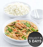 Red Thai Spiced Duck Curry with Jasmine Rice
