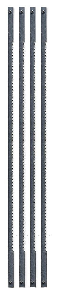 Zona 36-678 Coping Saw Blades, 6-1/2-Inch Long Between Pins, 125-Inch x 020-Inch x 15 TPI, 4-Pack