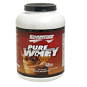Champion Nutrition Pure Whey Protein Stack, Cocoa-Mochaccino, 80-Ounce Jar