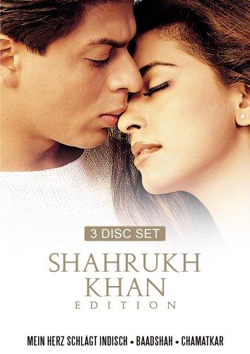 Shahrukh Khan Edition Vol. 5 (Mein Herz schlägt indisch/ Baadshah-König der Liebe/Chamatkar-Der Himmel führt uns zusammen) - (3 DVDs)