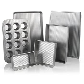 Cook cheap where can i buy usa pans 6 piece bakeware set fandeluxe Image collections