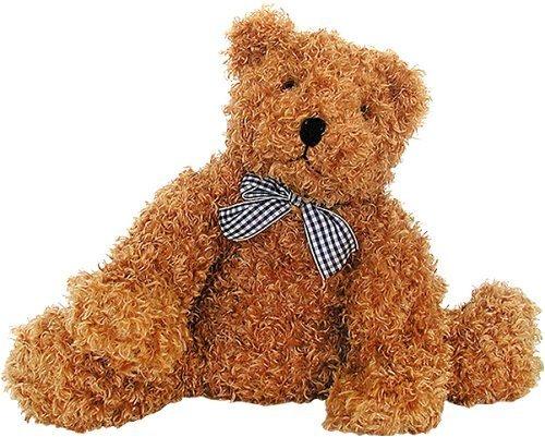Melissa and Doug Cuddly Brown Bear - Plush