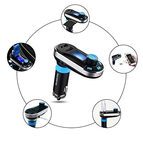Victsing wireless trasmettitore fm bluetooth per auto for Tablet samsung con porta usb