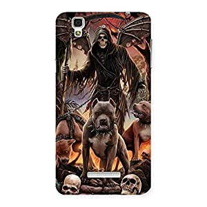 Sin Ghost Back Case Cover for YU Yureka Plus
