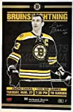 Zdeno Chara Boston Bruins Signed 1000th Game Commemorative Game Day Poster 11x17